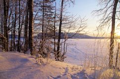 Paesaggio della Finlandia Immagine Stock