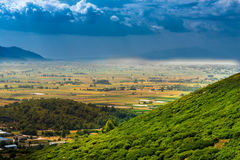 Paesaggio della Grecia Fotografia Stock