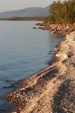 Paesaggio della linea costiera fotografia stock libera da diritti