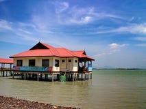 Paesaggio della Malesia Pulau Penang Fotografia Stock