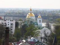 Paesaggio della molla di Polatsk Immagini Stock Libere da Diritti