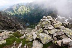 Paesaggio della montagna. Fotografia Stock