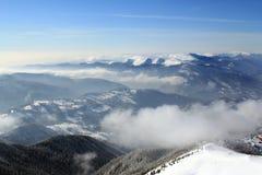 Paesaggio della montagna. Immagine Stock