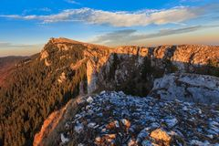 Paesaggio della montagna Immagine Stock Libera da Diritti