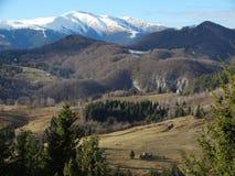 Paesaggio 01 della montagna fotografia stock libera da diritti
