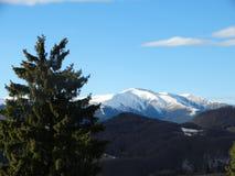 Paesaggio 09 della montagna fotografie stock