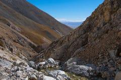 Paesaggio della montagna Fotografia Stock