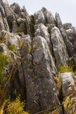 Paesaggio della montagna alla sierra Immagini Stock