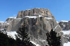 Paesaggio della montagna alle dolomia Fotografie Stock Libere da Diritti