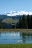 Paesaggio della montagna in alpi Fotografie Stock Libere da Diritti
