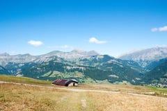 Paesaggio della montagna in alpi Immagini Stock Libere da Diritti