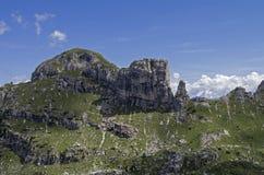 Paesaggio della montagna Alpi, estate, Italia Fotografie Stock Libere da Diritti