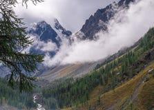 Paesaggio della montagna altai Fotografia Stock Libera da Diritti
