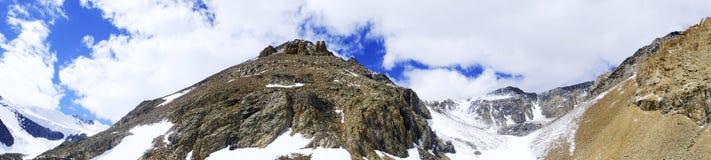 Paesaggio della montagna Altai, Siberia Fotografia Stock