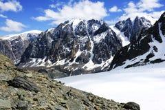 Paesaggio della montagna Altai, Siberia Fotografia Stock Libera da Diritti