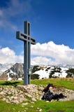 Paesaggio della montagna in Austria Fotografie Stock Libere da Diritti
