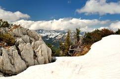 Paesaggio della montagna in Austria Fotografia Stock Libera da Diritti