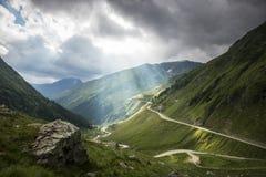 Paesaggio della montagna, bellezza della natura Fotografia Stock