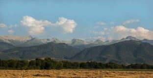 paesaggio della montagna carpatica Fotografie Stock Libere da Diritti