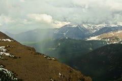 Paesaggio della montagna in Colorado Fotografie Stock Libere da Diritti