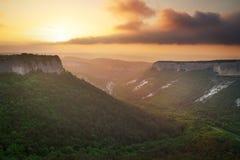Paesaggio della montagna Composizione della natura Immagine Stock Libera da Diritti
