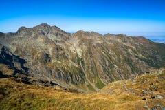 Paesaggio della montagna con cielo blu Fotografia Stock Libera da Diritti