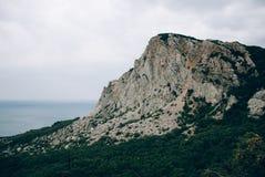 Paesaggio della montagna in Crimea Fotografia Stock Libera da Diritti