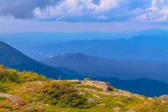 Paesaggio della montagna dal supporto Washington fotografie stock libere da diritti