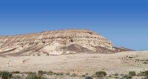 Paesaggio della montagna del deserto Fotografia Stock