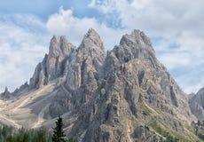 Paesaggio della montagna del dolomiti Fotografie Stock Libere da Diritti