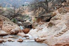 Paesaggio della montagna del Marocco Fotografia Stock Libera da Diritti