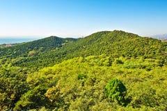 Paesaggio della montagna del picco del distico di Beidaihe Fotografia Stock