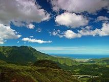 Paesaggio della montagna del Yang-Ming Fotografia Stock