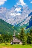 Paesaggio della montagna della Svizzera Immagini Stock
