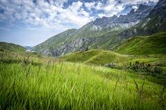 Paesaggio della montagna delle alpi di Allgau Immagini Stock