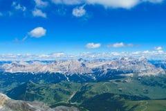 Paesaggio della montagna delle alpi di estate Immagini Stock Libere da Diritti