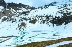Paesaggio della montagna delle alpi di estate (Austria) Immagine Stock Libera da Diritti