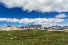 Paesaggio della montagna delle dolomia Immagini Stock Libere da Diritti
