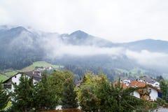 Paesaggio della montagna delle dolomia Fotografia Stock