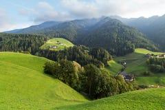 Paesaggio della montagna delle dolomia Fotografia Stock Libera da Diritti