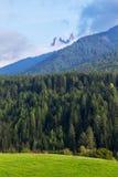 Paesaggio della montagna delle dolomia Immagine Stock