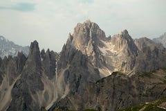 Paesaggio della montagna delle dolomia Fotografie Stock