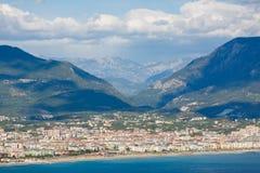 Paesaggio della montagna di Alanya, Turchia fotografia stock libera da diritti