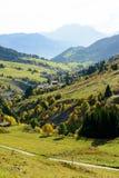Paesaggio della montagna di autunno nelle alpi francesi Fotografie Stock