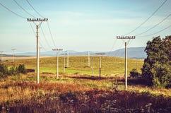 Paesaggio della montagna di estate Fotografie Stock Libere da Diritti