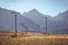 Paesaggio della montagna di estate Fotografie Stock