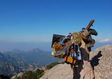 Paesaggio della montagna di Huangshan Immagini Stock Libere da Diritti