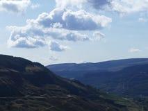 Paesaggio della montagna di Lingua gallese Fotografie Stock Libere da Diritti
