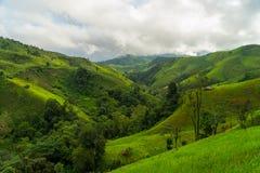 Paesaggio della montagna di Nan bello Fotografia Stock Libera da Diritti