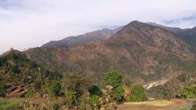 Paesaggio della montagna di Panoraming archivi video